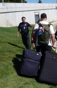 July 14, 2013 US-Canada Border Crossing Caravanistas